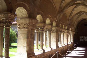 Galería norte del claustro