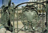 Hector Guimard - Escudos de la estación Port-Royal - 1900