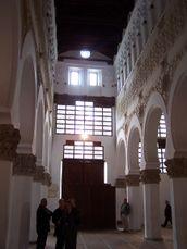 Nave & columns, Toledo synagogue, Spain, ZM.JPG