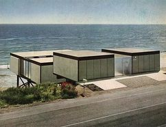 Casa Hunt,  Malibu, California (1955)