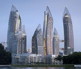 Reflections en Keppel Bay, Singapur (2006-2011)