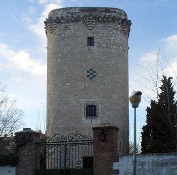 Vista del torreón de Pinto o torre de Éboli.