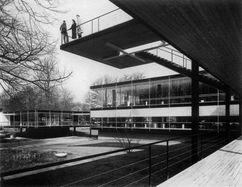 Pabellón Alemán en la Expo de Bruselas (1958), con Sep Ruf