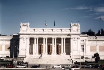 La Galería Nacional de Arte Moderno de Roma