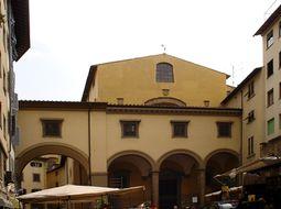 Pasaje sobre la iglesia de Santa Felicita.
