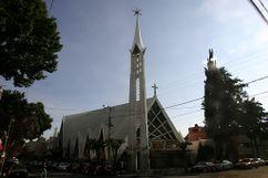 Iglesia de la Milagrosa, Navarte, México. (1953-1957)