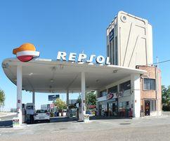 Gasolinera de la avenida de Aragón, Madrid (1928-1958).