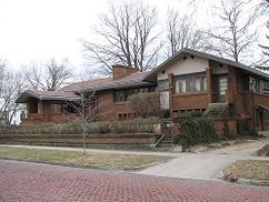 Residencia David Amberg, Grand Rapids, Michigan (1909)