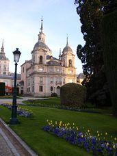 Palacio Real de La Granja de San Ildefonso.