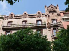 Casa Llorens, Girona 120, Barcelona (1903)