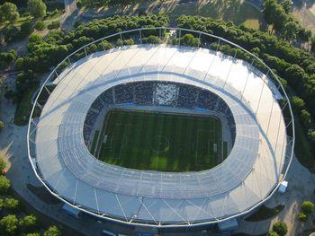 Vista aérea del AWD-Arena