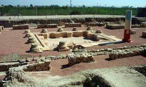 Restos de edificación de época romana