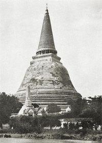 Imagen de Phra Pathom Chedi en 1925