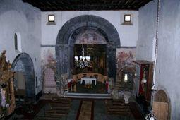 Ábside de la iglesia del monasterio