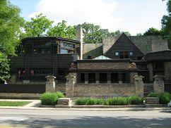Casa y Estudio de Frank Lloyd Wright, Oak Park, EE. UU.(1889)