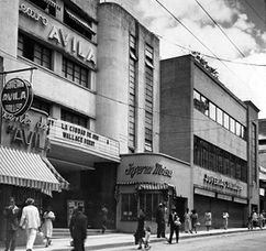 Cine Ávila, Caracas (1938-1940)