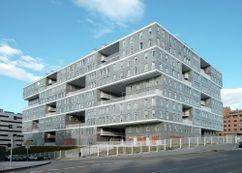 Edificio Celosía, Madrid (2003-2009), junto con MVRDV