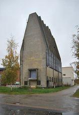 Silo para la fábrica de celulosa Toppila, Oulu, Finlandia (1931)