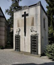 Capilla Borletti, Cementerio Monumental, Milán (1929-1930)