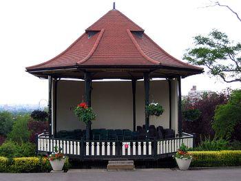 Templete construido en 1912 en los terrenos del Museo Horniman en Londres