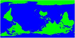 mapamundi invertido