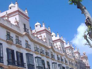 Casa de las Cinco Torres de Cádiz. Vista de conjunto.