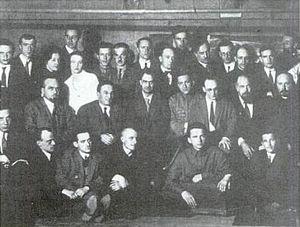 Primera Conferencia de OSA, Moscú (1928)