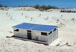 Pabellón prefabricado Chemehuevi, Havasu Lake, California (1976)