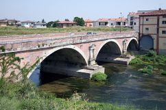 Puente sobre el Tesina, Torri di Quartesolo (1580-1588)