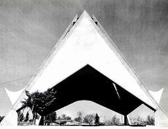 Iglesia de San Pedro Mártir, Tlalpan, México (1965)