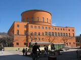Biblioteca Pública de Estocolmo, (1918-27)