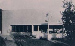 Sede del Club de Golf de Beauvallon (1926-1927) junto con Pierre Chareau