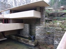 Frank Lloyd Wright - Fallingwater exterior 4.JPG