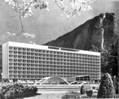 Hospital de Lagoa, Río de Janeiro (1952-1958)
