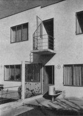 Jacobus Johannes Pieter Oud.5 viviendas en hilera. Weissenhof.5.jpg