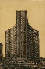 Proyecto de rascacielos en Berlín (1921)
