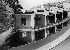 Apartamentos Proletarios, Gamboa, Rio de de Janeiro (1931-1933), junto con Gregori Warchavchik