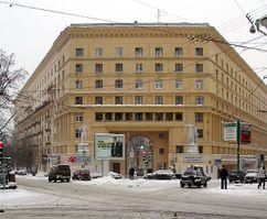Apartamentos en Bulevar Yauzsky, Moscú (1939)