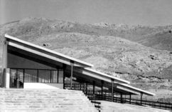 Residencia infantil de verano La Cristalera, Miraflores de la Sierra, (1957-1959)