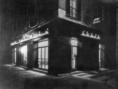Bar Craja, Milán (1930) con Fillini y Pollini.