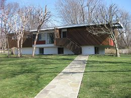 Residencia Snower, Prairie Village, Kansas (1955)