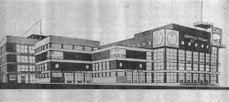 Proyecto para el Palacio del Trabajo en Rostov del Don (1925)