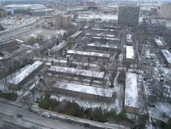 Parque Lafayette, Detroit (1956-1959)
