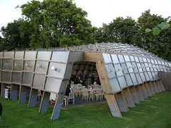 Pabellón en Serpentine Gallery, Londres (2005)