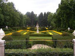Jardines del Palacio Real de La Granja de San Ildefonso.