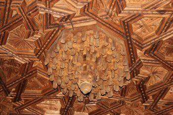 Taujel con pinjantes en forma de mocárabes, Narros del Castillo,.