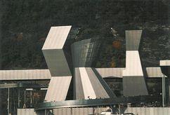 Torres y foro Expo 02, Biel, Suiza (2002)