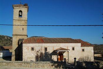 Iglesia de San Vicente Mártir.Paredes de Escalona.JPG
