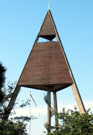 Depósito elevado de agua, Svaneke, Bornholm (1949–1951)