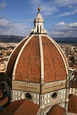 View of the Duomo's dome, Florence.jpg